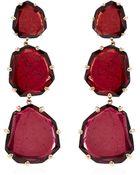Annoushka Shard Triple Drop Earrings - Lyst