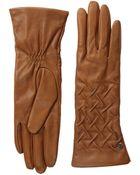 Ugg Gabrielle Rusched Glove - Lyst
