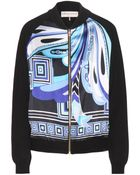 Emilio Pucci Printed Bomber Jacket - Lyst