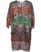 Met & Friends Short Dress - Lyst