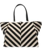 Fendi 3Jours Trapeze Wing Calf-Hair Tote - Lyst