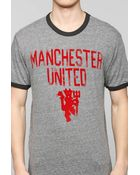 Junk Food Flocked Manchester United Tee - Lyst