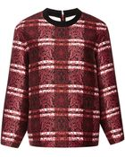 Mother Of Pearl Dover Cotton And Silk-Blend Sweatshirt - Lyst