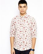 Bellfield Shirt with Floral Print - Lyst