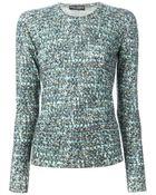 Dolce & Gabbana Boucle Knit Sweater - Lyst