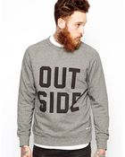 WOOD WOOD Sweatshirt Outside - Lyst