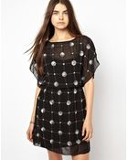 Greylin Embellished Tunic Dress - Lyst