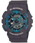 G-Shock Gray & Blue Xl Watch, 55Mm - Lyst