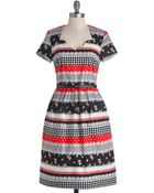 ModCloth Make Yourself At Home Dress - Lyst