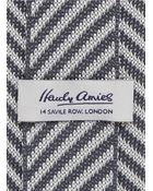 Hardy Amies Knit Diagonal Stripe Tie - Lyst