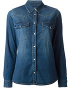 Pinko Denim Shirt - Lyst