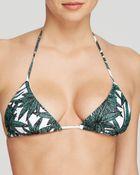 Mara Hoffman Harvest Triangle String Bikini Top - Lyst