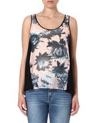 French Connection Lily Collage Vest Top - Lyst
