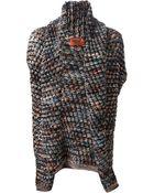 Missoni Chunky Knit Sleeveless Cardigan - Lyst