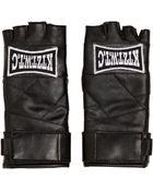 KTZ Faux Leather Fingerless Gloves - Lyst