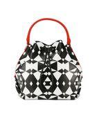 DKNY Geo Print Bucket Bag - Lyst