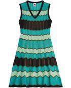 M Missoni Stretch Knit Crochet Dress - Lyst
