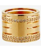 Vita Fede Crystal Pila Band Ring: Gold - Lyst