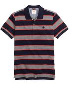 Brooks Brothers Framed Stripe Polo Shirt - Lyst