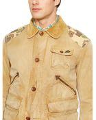 Ralph Lauren Removable-Vest Canvas Jacket - Lyst