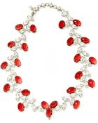 Carole Tanenbaum Vintage Schreiner Rhinestone Necklace And Earrings Set - Lyst
