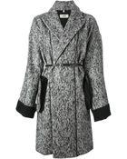 Jean Paul Gaultier Belted Coat - Lyst
