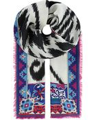 Emilio Pucci Patterned Scarf - Lyst