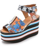 Clover Canyon Brumese Dream Wedges - Multi - Lyst