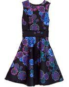 Cynthia Rowley Bonded Party Dress - Lyst