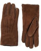 Sofie D'hoore Lambskin Gloves - Lyst