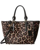 Coach Printed Haircalf Crosby Carryall - Lyst