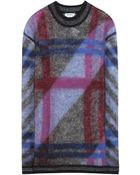 Kenzo Wool And Mohair-Blend Sweater - Lyst