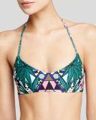 Mara Hoffman Maristar Reversible Basket Weave Bikini Top - Lyst