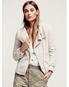 Free People Short And Shaggy Jacket - Lyst