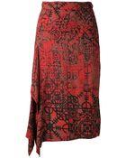 Vivienne Westwood Anglomania 'Solstice' Skirt - Lyst