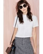 Nasty Gal Square One Top - Lyst