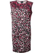 McQ by Alexander McQueen Leopard Print Dress - Lyst