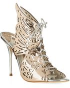 Sophia Webster Cherub Leather Sandal - Lyst