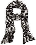 Brooks Brothers Wool Blend Scarf - Lyst