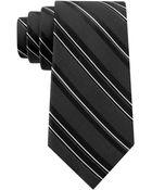 DKNY Silk Stripe Tie - Lyst