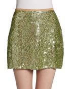 Yumi Kim Ana Sequin Mini Skirt - Lyst