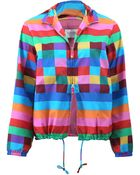 Valentino Multi-Color Hooded Anorak - Lyst