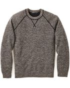 T By Alexander Wang Heathered Sweater - Lyst