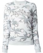 Zoe Karssen Misfits Printed Sweatshirt - Lyst
