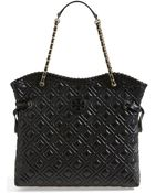 Tory Burch 'Marion' Quilted Tote - Lyst