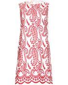 Giambattista Valli Embroidered Silk-Organza Dress - Lyst