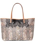 Etro Coated Canvas Shopping Bag - Lyst