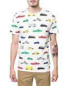 Wesc Autobahn Print T-Shirt - Lyst