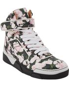 Givenchy Floralprint Tyson Hightop Sneakers - Lyst