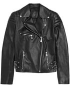 McQ by Alexander McQueen Quilted Leather Biker Jacket - Lyst